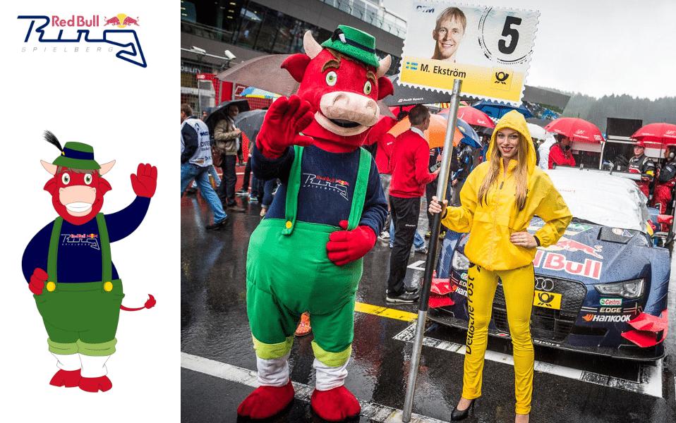 Red Bull & Custom Mascot Costumes - 100% Custom Made