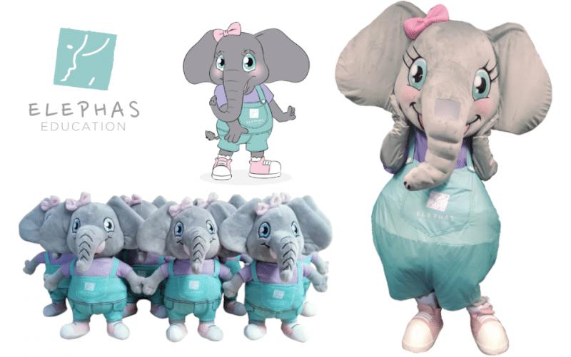 Custom-Mascot-Costume-Elephant-Elephas